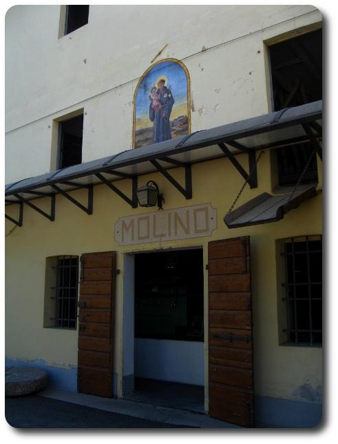 ...la promessa visita al Molino Moras di Trivignano Udinese...