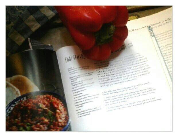 jerusalem dinner_muhamara preparazione