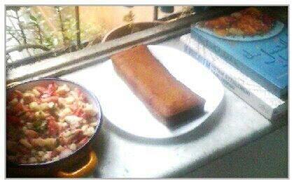 jerusalem dinner_torta di semola