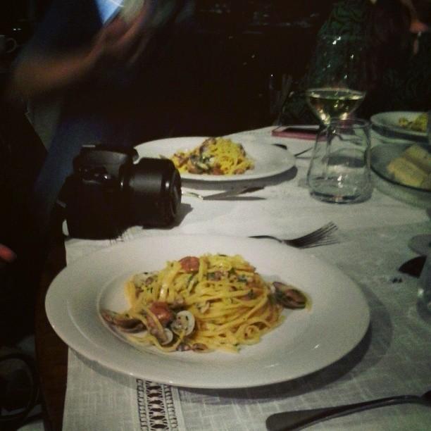 luciana mosconi pasta cena