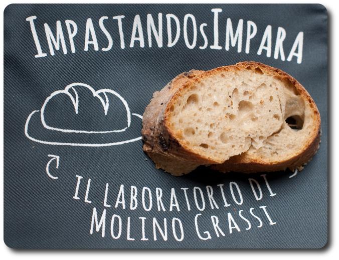 bloomer loaf molino grassi logo