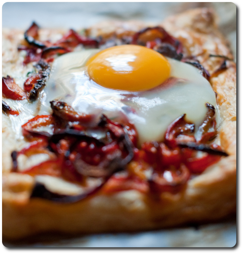 galette uovo