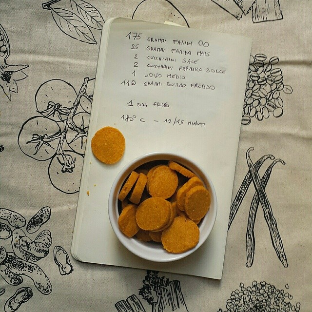 biscotti paprika