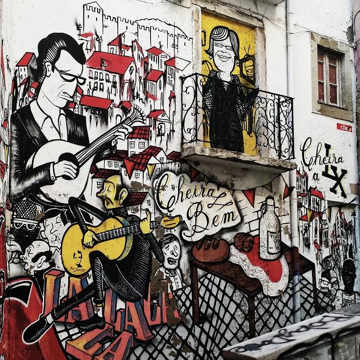 Andare a lisbona_street art