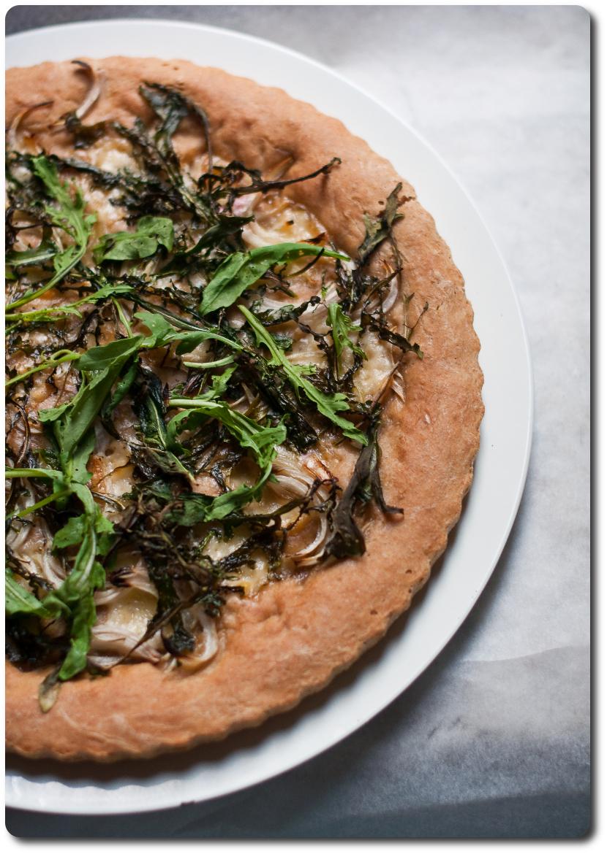 pizza alla rucola gruyere cipolla Montoro_ alto