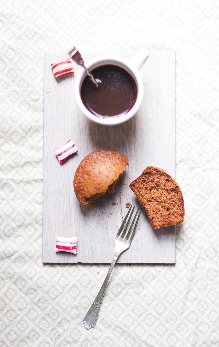 muffin al caffè alto