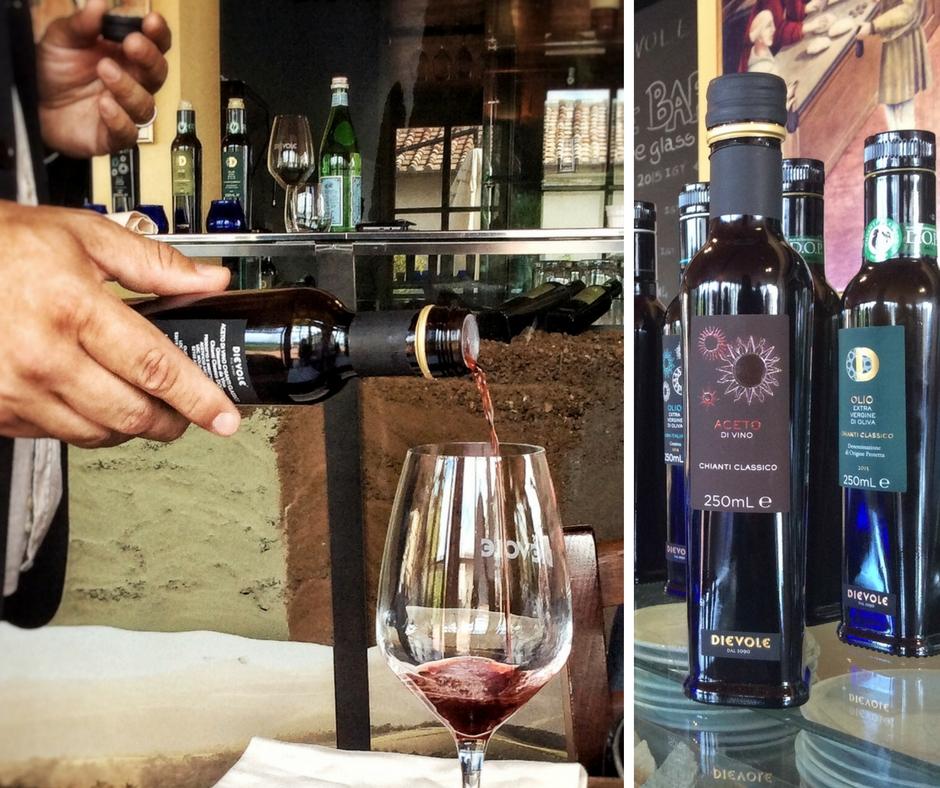 Dievole nel Chianti aceto di vino